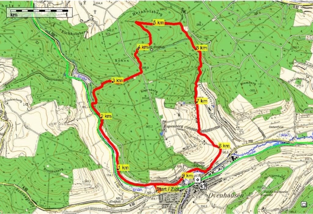 Strecke 10km