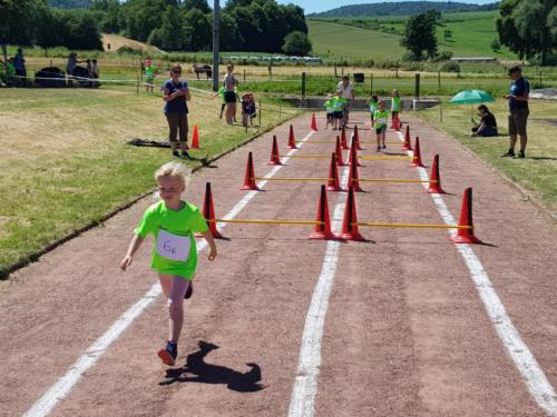 Kinder-Leichtathletik-Wettkampf 2019